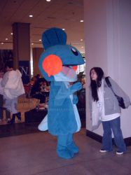SakCon09: Mudkip (Pokemon) by PaperRoxas