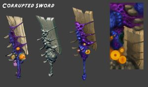 Corrupted Sword by Beezul