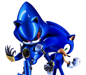 Metal and Sonic by Fentonxd