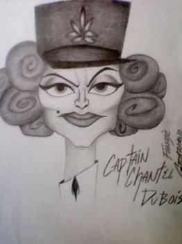 Captain Chantel DuBois from Madagascar 3 by FonzieMonster