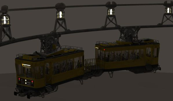 Toha Hi Station WIP - Train by MandesDesign