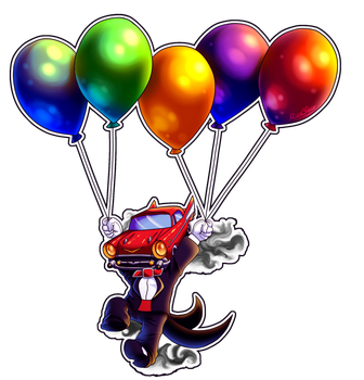 Balloon Octi by MudSaw