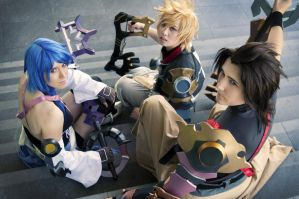 Birth by Sleep: TRIO by christie-cosplay