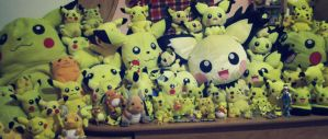 Pikachu collection ~ by Magikarpette
