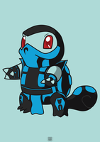 Sub Squirtle by kelvector