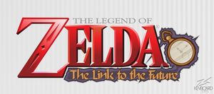 Zelda: The Link to the Future --- Logo Idea --- by kevboard