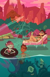 Bravest Warriors #09 cover (variant) by shoomlah