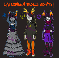 _HalloweenTrollsAuction:CLOSED_ by RobicTheEscapist
