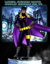 Batgirl SB cosplay costume for V4  by Terrymcg