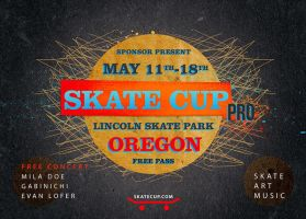 Skate Cup Flyer by CIROdg