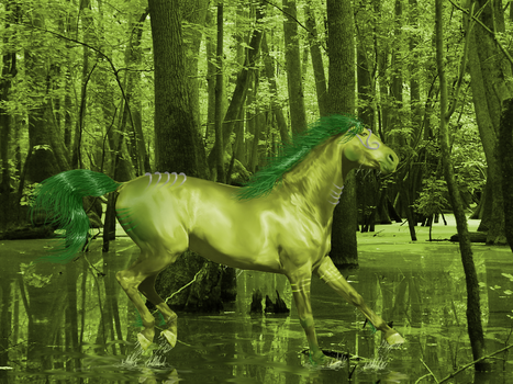 Swamp Horse Katipil by HoofBeat-Graphics