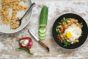 fried Rice - Nasi Goreng - Indonesian food by pixelinephoto