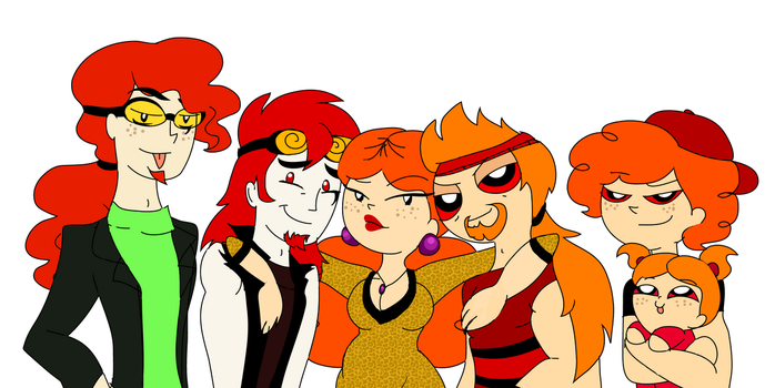 The Prinack/Prick Family by PurfectPrincessGirl