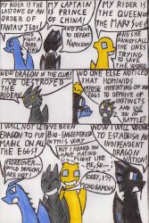 Dragons meeting -2 -  about dragonriders (spoilers by Kooskia