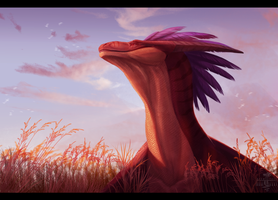 In field by NeonSpaceArtist