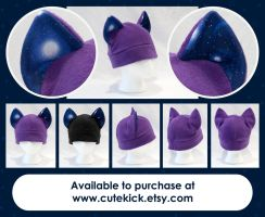 Space Cat Hat Lens Flare by cutekick