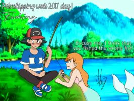 Fishing (Pokeshipping week 2017) by Marsy3