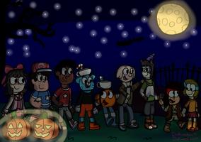 Happy Halloween 2018 (CN edition) by Dulcechica19