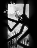 Slenderman by rafafloresart