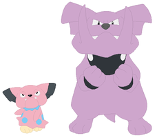 Snubbull and Granbull Base