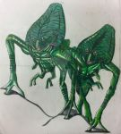 War of the Worlds Aliens  by Killosaur