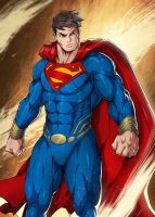 Man of Steel by darkeyez07