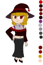 Vampire Witch Ariane's remodel by Basher-the-Basilisk
