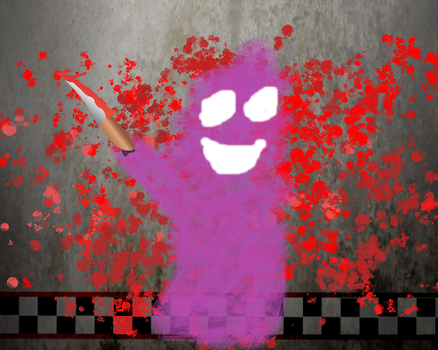 Fnaf the purple guy by Princessfrozenfire