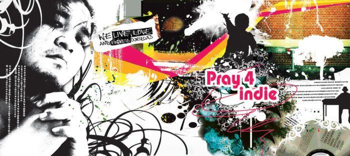 PRAY FOR INDIE by ruthnella