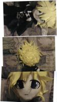 Cloud Strife:the plush by AdorkableByDesign1