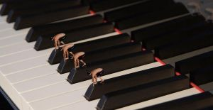 Piano Swimmers by jolielove1