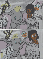 Mowgli and Dumbo 5 by tcr11050
