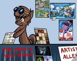 Experience as a First Time Art Vendor - Cloudsdale by SouthParkTaoist