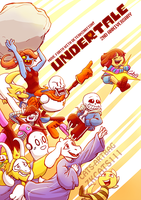 .: 2ND ANNIVERSARY : UNDERTALE :. by ZKCats