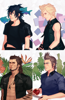 FFXV Aesthetics by oldzio-olditore