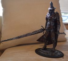 Dark Souls 3 Abyss Watcher statue by futantshadow