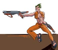 Punk With Guns by AWaqas