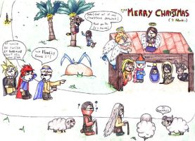 Merry Christmas for everyone by Ly-riane