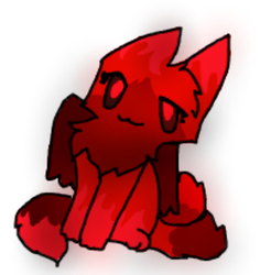 Demon Evil Kitty by frogsdolphins