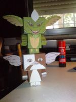Gremlins and Gizmo... by kosepa