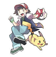 Ash and Pikachu by RamyunKing