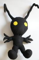 Heartless Plushie by HeatherMason76