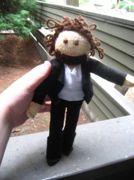 Bruce Springsteen stuffie by cigarettes214