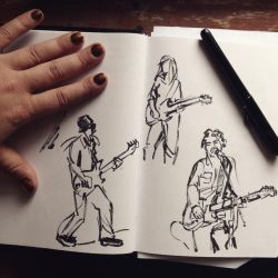 Open Mic Night: Quick Voirvoir Studies by kineticnovels