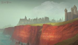 The Town of Redcliffs by Banzz