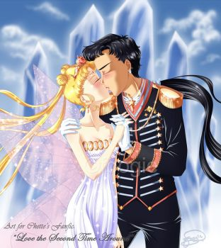 Usagi and Seiya - Love the Second Time Around by foogie
