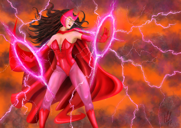 Scarlet Witch by blood083