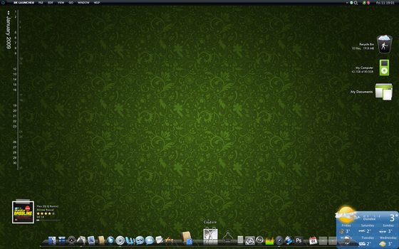 First '09 Desktop by Ultimo619