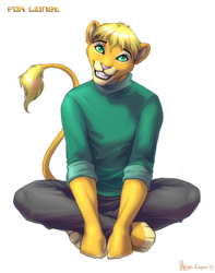 Lionet by OmegaLioness