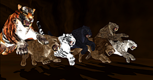 Cats of Skyrim MMD Model Pack by Valforwing
